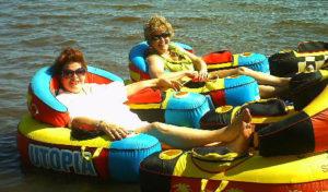 Up-North-Resort-floating-tubes